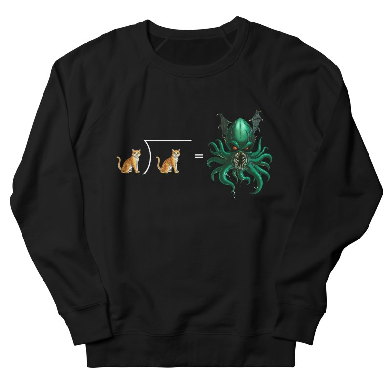 Uninvited Women's French Terry Sweatshirt by goodbadflicks's Artist Shop