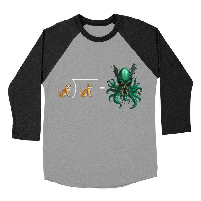 Uninvited Men's Baseball Triblend Longsleeve T-Shirt by Good Bad Flicks