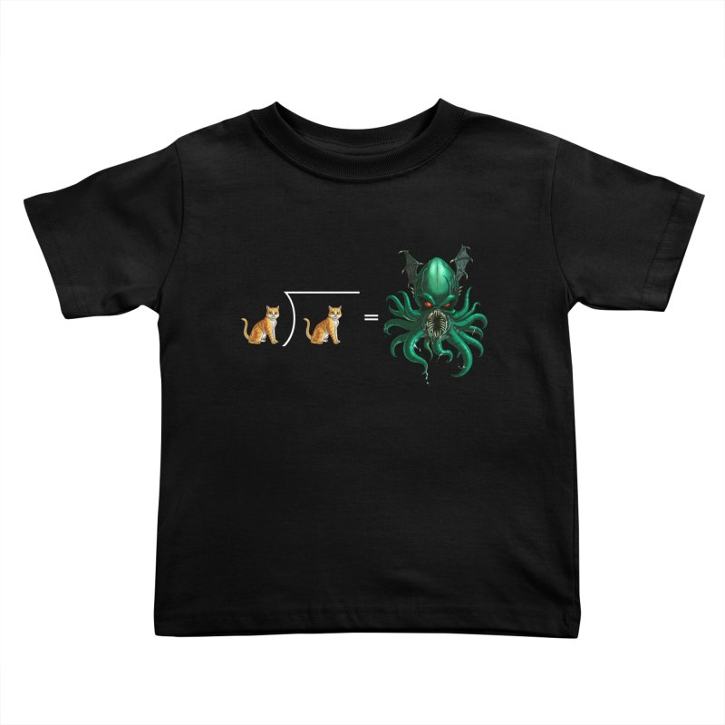 Uninvited Kids Toddler T-Shirt by goodbadflicks's Artist Shop