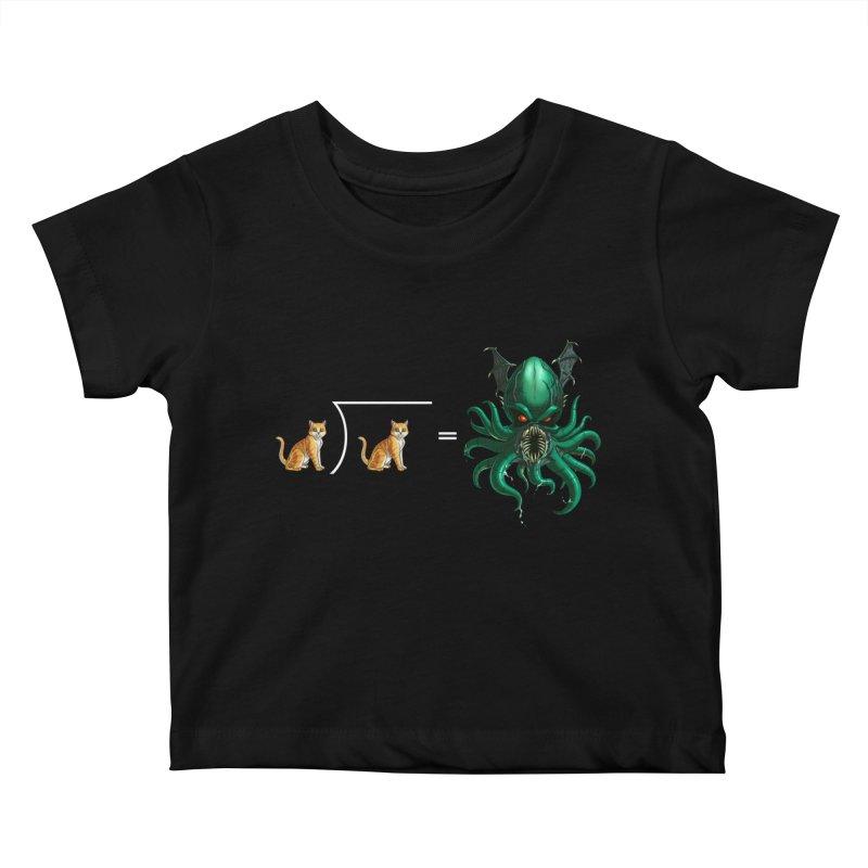 Uninvited Kids Baby T-Shirt by Good Bad Flicks