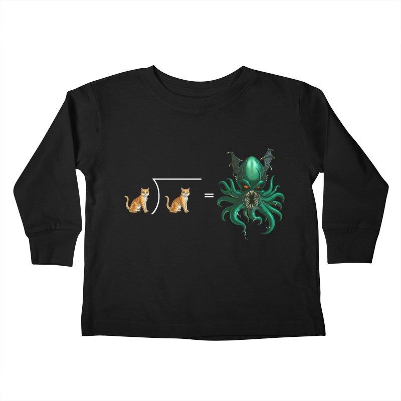 Uninvited Kids Toddler Longsleeve T-Shirt by Good Bad Flicks