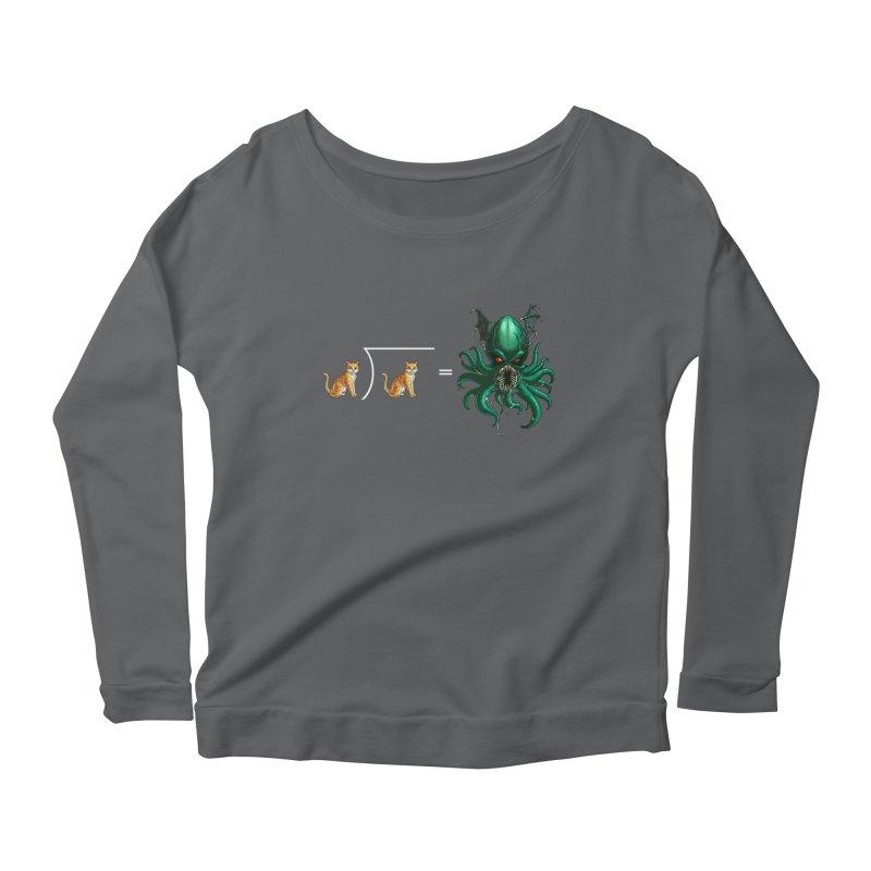 Uninvited Women's Scoop Neck Longsleeve T-Shirt by goodbadflicks's Artist Shop