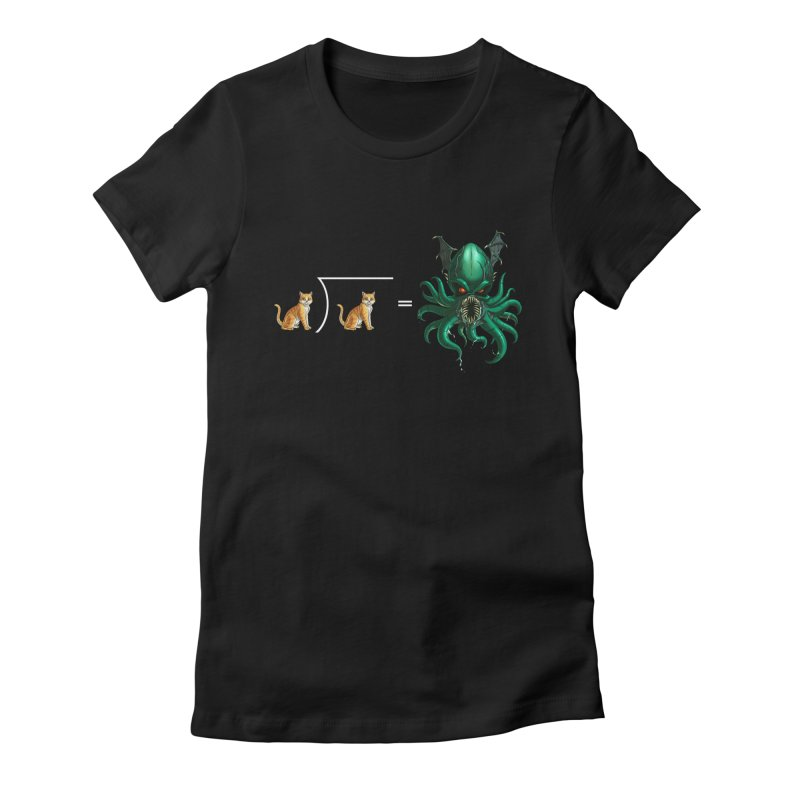 Uninvited Women's Fitted T-Shirt by goodbadflicks's Artist Shop