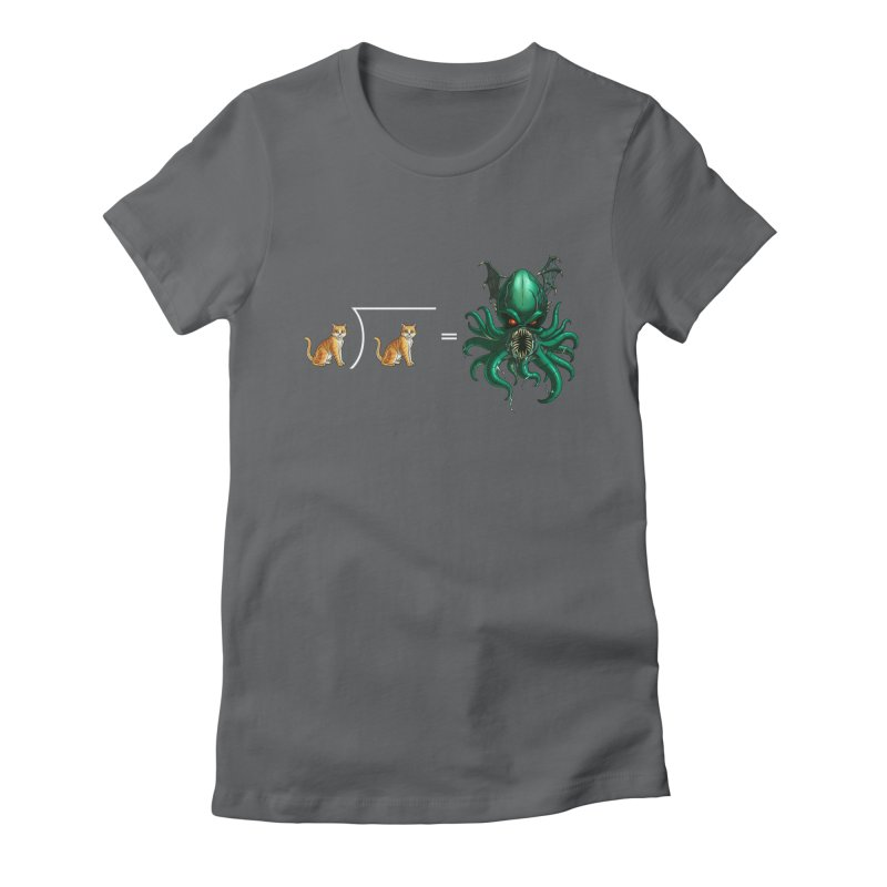 Uninvited Women's Fitted T-Shirt by Good Bad Flicks