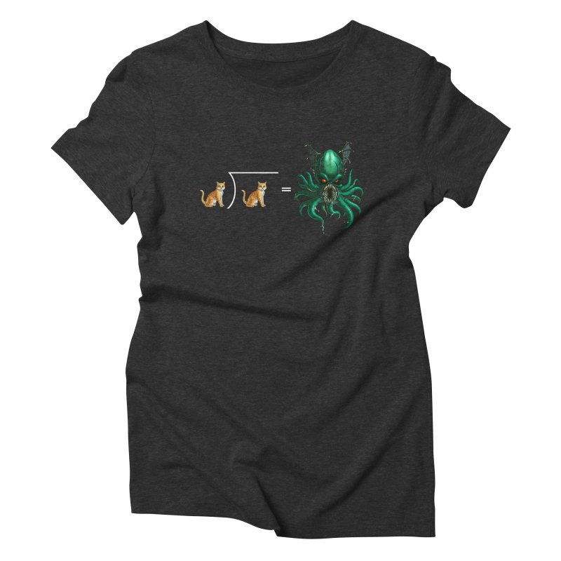 Uninvited Women's Triblend T-Shirt by Good Bad Flicks