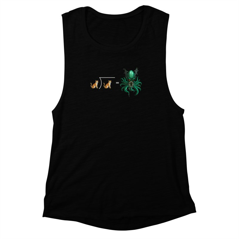 Uninvited Women's Muscle Tank by Good Bad Flicks