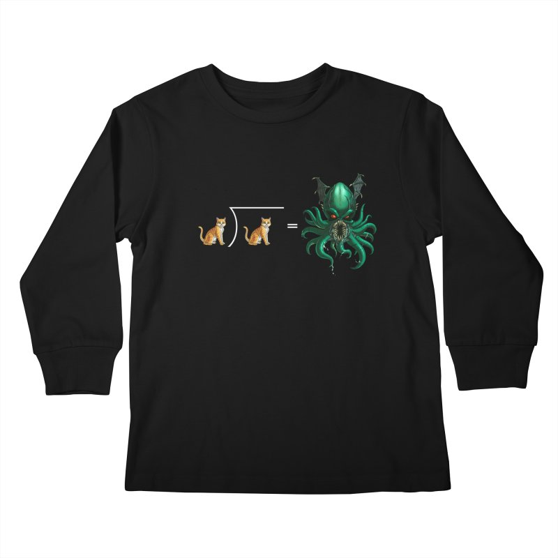 Uninvited Kids Longsleeve T-Shirt by Good Bad Flicks