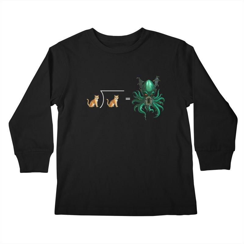 Uninvited Kids Longsleeve T-Shirt by goodbadflicks's Artist Shop
