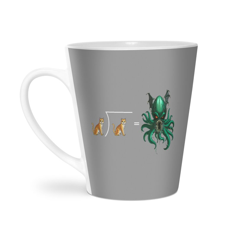 Uninvited Accessories Latte Mug by Good Bad Flicks