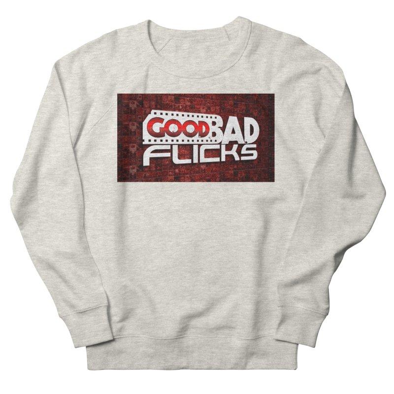 Good Bad Flicks (Logo with Background) Men's Sweatshirt by Good Bad Flicks