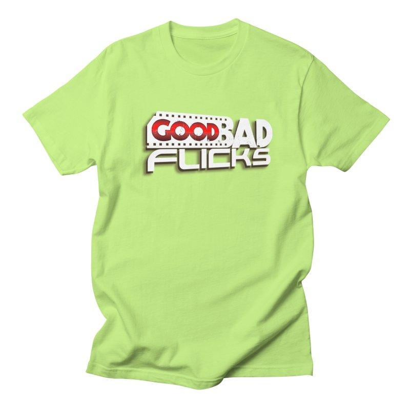Good Bad Flicks (Logo with Shadow) Men's T-Shirt by Good Bad Flicks