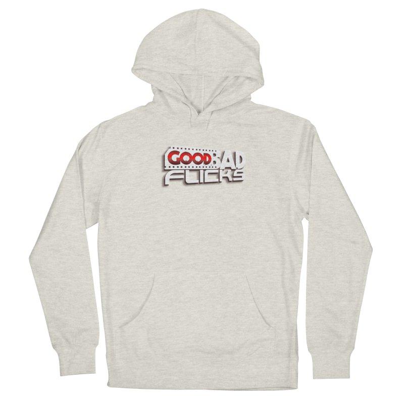 Good Bad Flicks (Logo with Shadow) Women's Pullover Hoody by Good Bad Flicks
