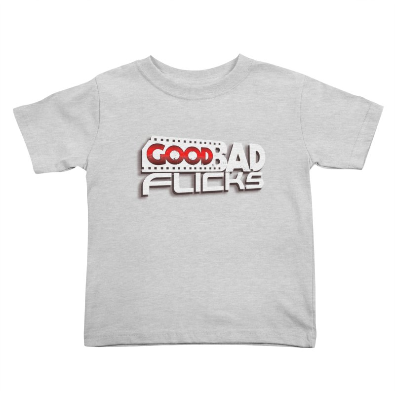 Good Bad Flicks (Logo with Shadow) Kids Toddler T-Shirt by goodbadflicks's Artist Shop