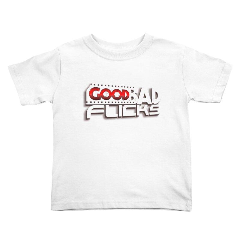 Good Bad Flicks (Logo with Shadow) Kids Toddler T-Shirt by Good Bad Flicks