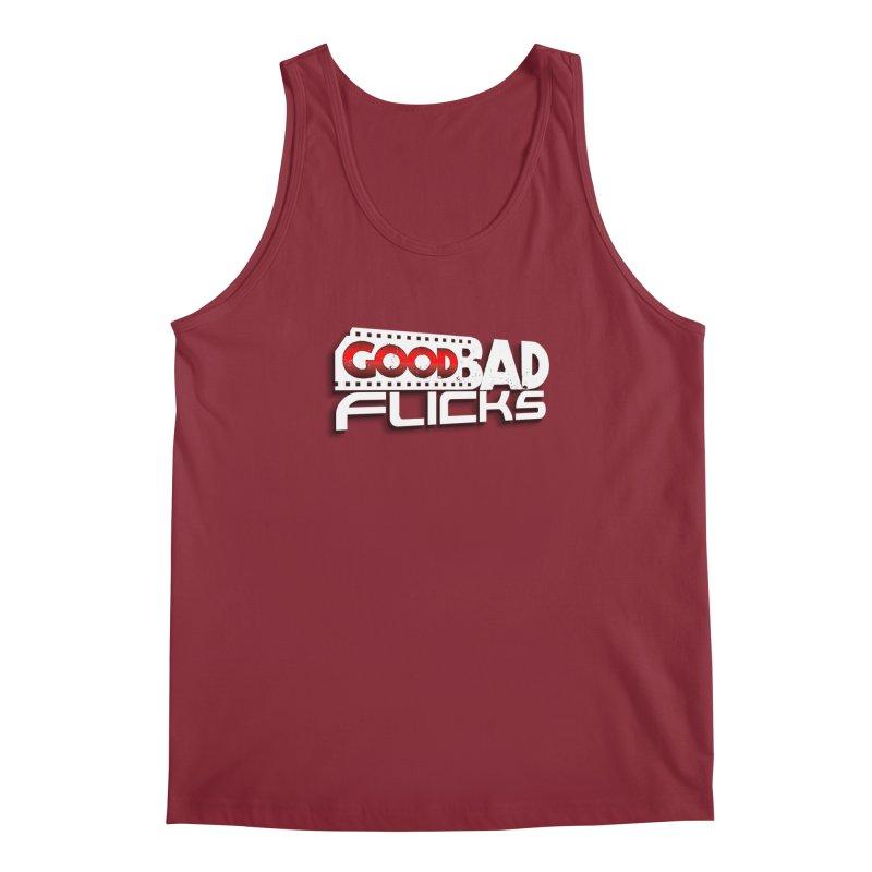 Good Bad Flicks (Logo with Shadow) Men's Regular Tank by goodbadflicks's Artist Shop