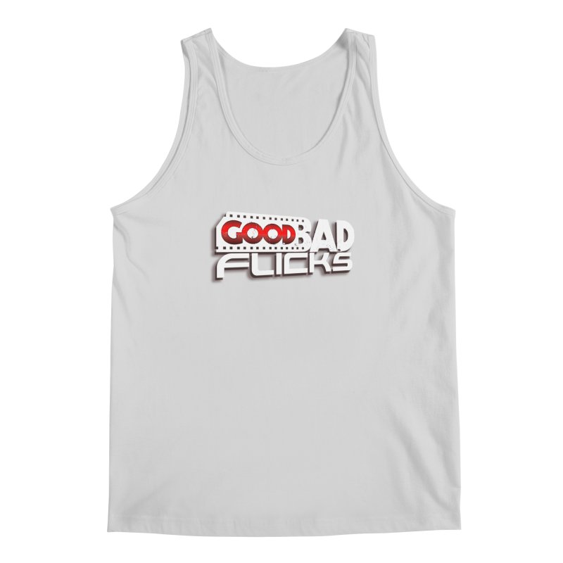 Good Bad Flicks (Logo with Shadow) Men's Regular Tank by Good Bad Flicks