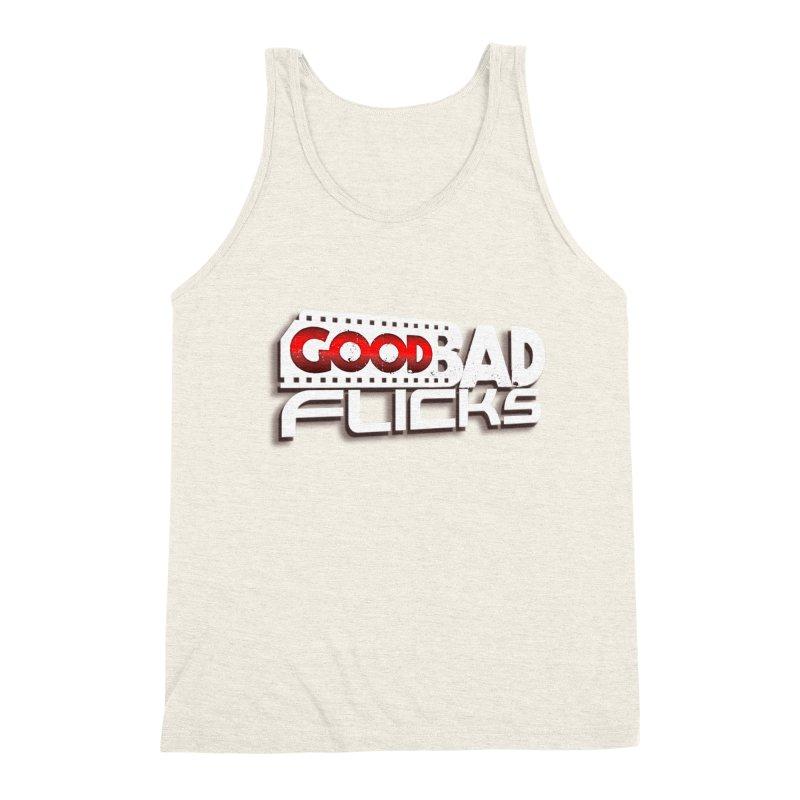Good Bad Flicks (Logo with Shadow) Men's Triblend Tank by Good Bad Flicks
