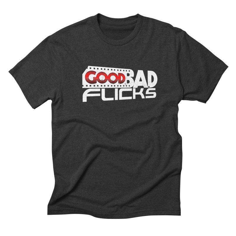 Good Bad Flicks (Logo Without Shadows) Men's T-Shirt by Good Bad Flicks
