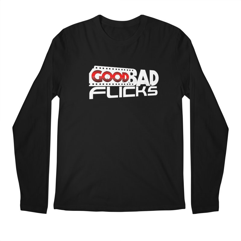 Good Bad Flicks (Logo Without Shadows) Men's Regular Longsleeve T-Shirt by Good Bad Flicks