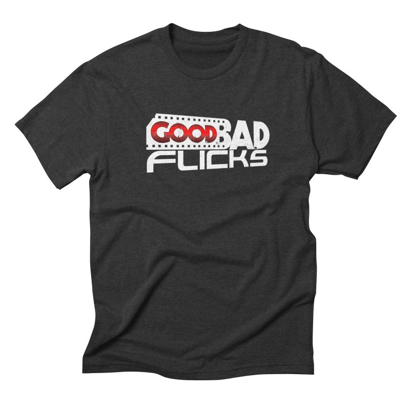 Good Bad Flicks (Logo Without Shadows) Men's Triblend T-Shirt by Good Bad Flicks