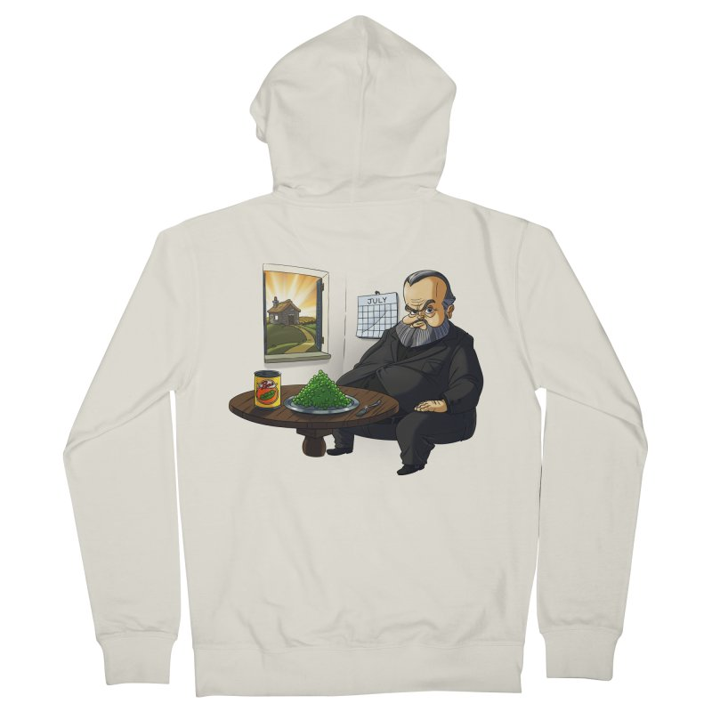 In July Men's French Terry Zip-Up Hoody by Good Bad Flicks