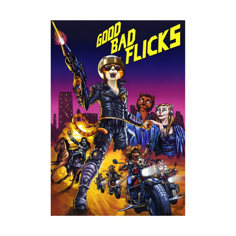 1990 Good Bad Flicks Warriors by goodbadflicks's Artist Shop