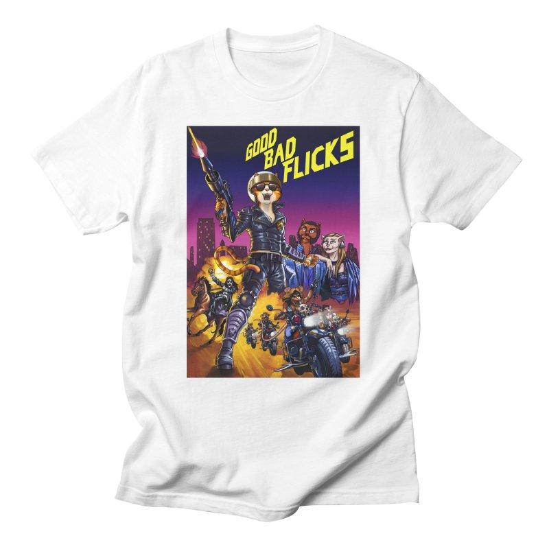 1990 Good Bad Flicks Warriors Men's T-Shirt by Good Bad Flicks