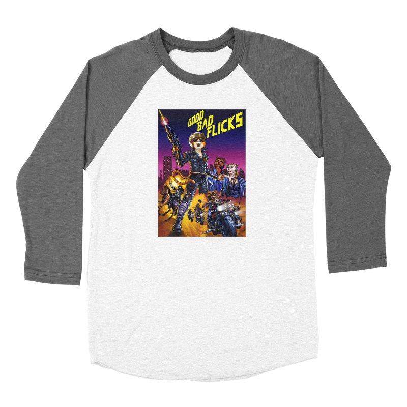 1990 Good Bad Flicks Warriors Women's Longsleeve T-Shirt by Good Bad Flicks