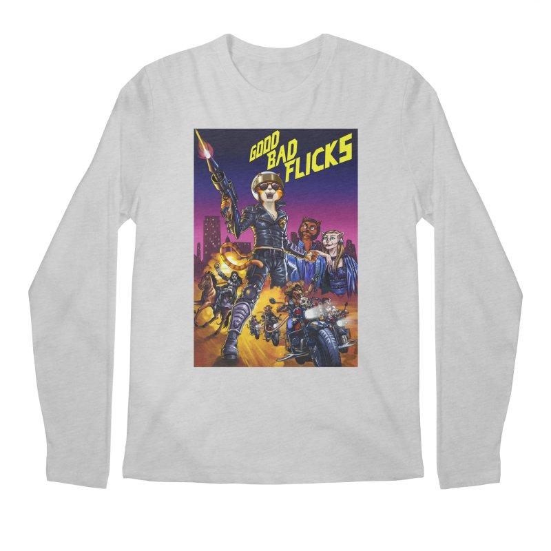 1990 Good Bad Flicks Warriors Men's Regular Longsleeve T-Shirt by Good Bad Flicks