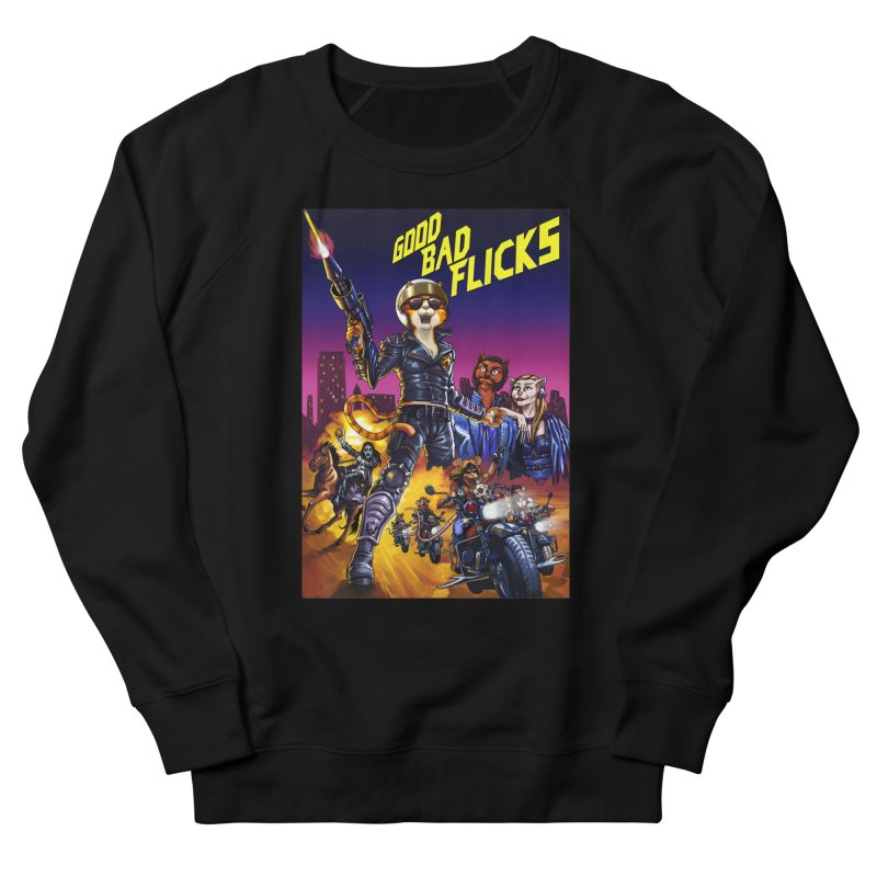 1990 Good Bad Flicks Warriors Women's French Terry Sweatshirt by Good Bad Flicks