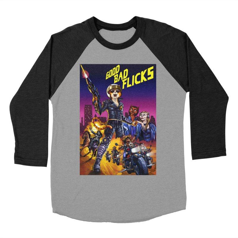 1990 Good Bad Flicks Warriors Men's Baseball Triblend Longsleeve T-Shirt by goodbadflicks's Artist Shop