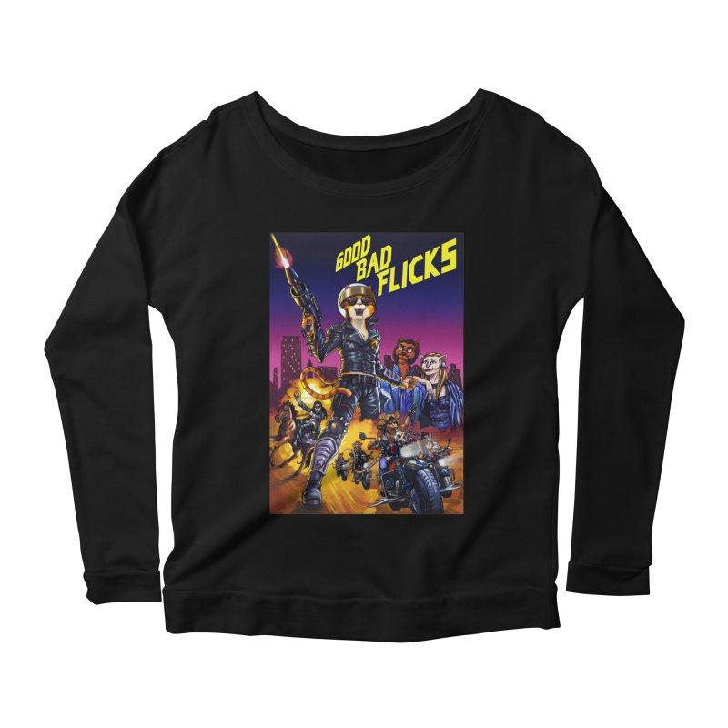 1990 Good Bad Flicks Warriors Women's Scoop Neck Longsleeve T-Shirt by goodbadflicks's Artist Shop