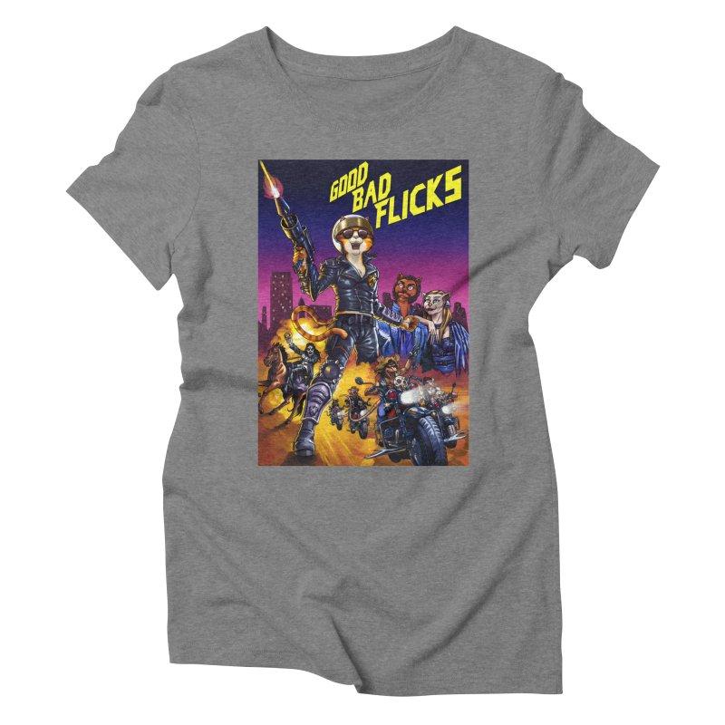 1990 Good Bad Flicks Warriors Women's Triblend T-Shirt by goodbadflicks's Artist Shop