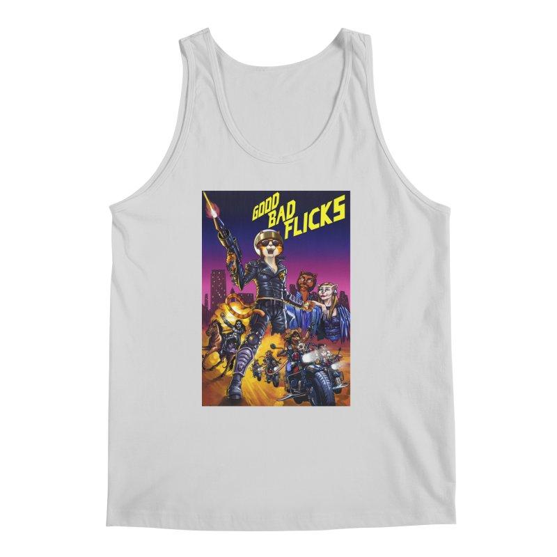 1990 Good Bad Flicks Warriors Men's Regular Tank by Good Bad Flicks