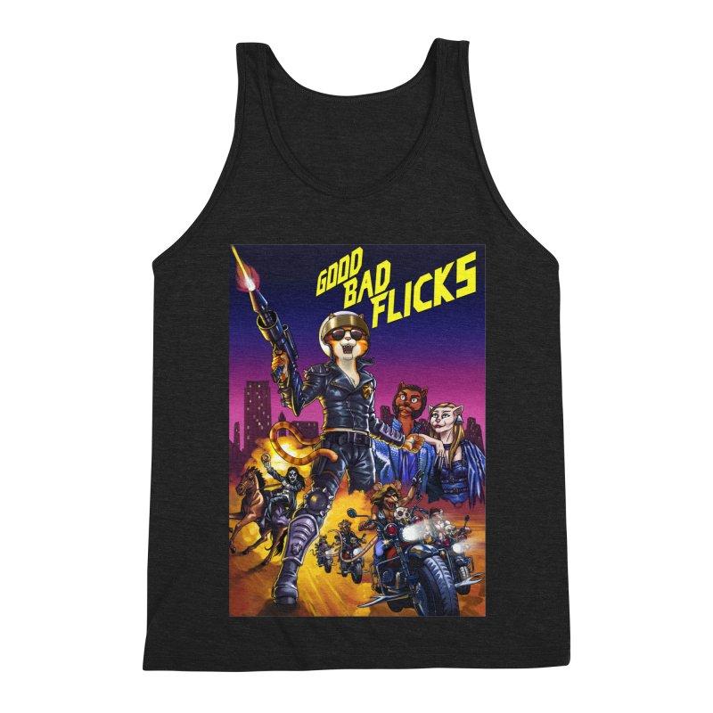 1990 Good Bad Flicks Warriors Men's Triblend Tank by Good Bad Flicks