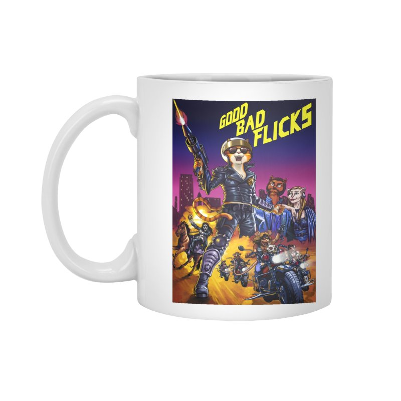 1990 Good Bad Flicks Warriors Accessories Mug by goodbadflicks's Artist Shop