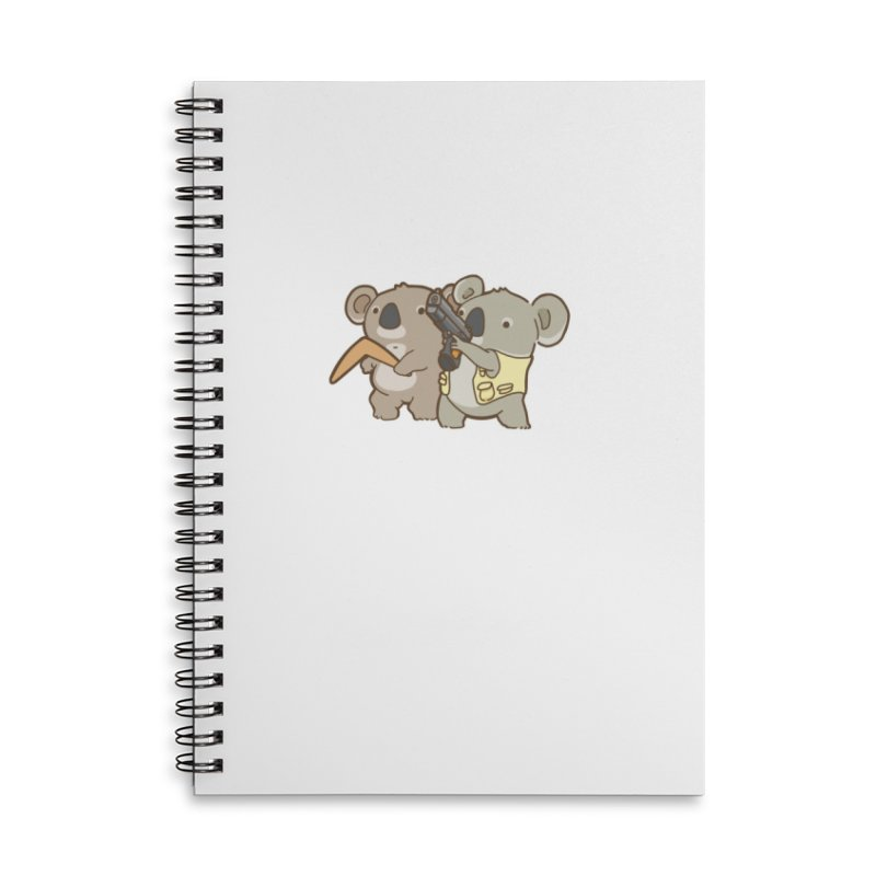 Dangerous Koalas Accessories Notebook by Good Bear Comics's Artist Shop