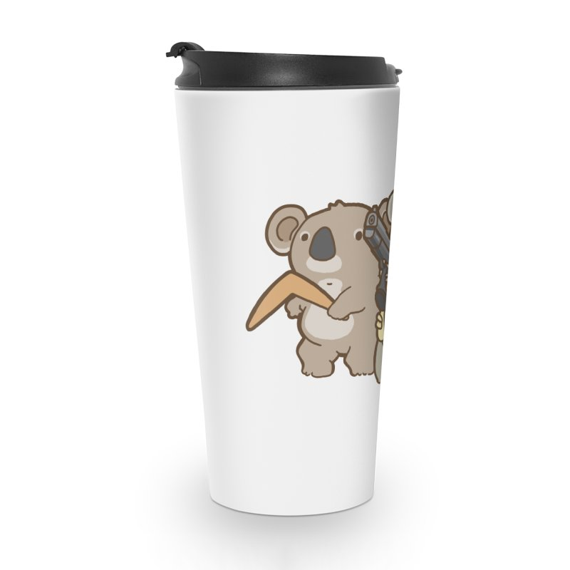 Dangerous Koalas Accessories Travel Mug by Good Bear Comics's Artist Shop