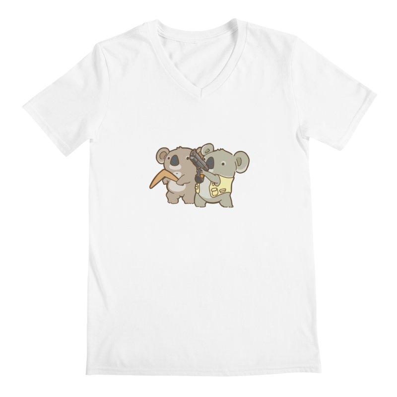 Dangerous Koalas Men's V-Neck by Good Bear Comics's Artist Shop
