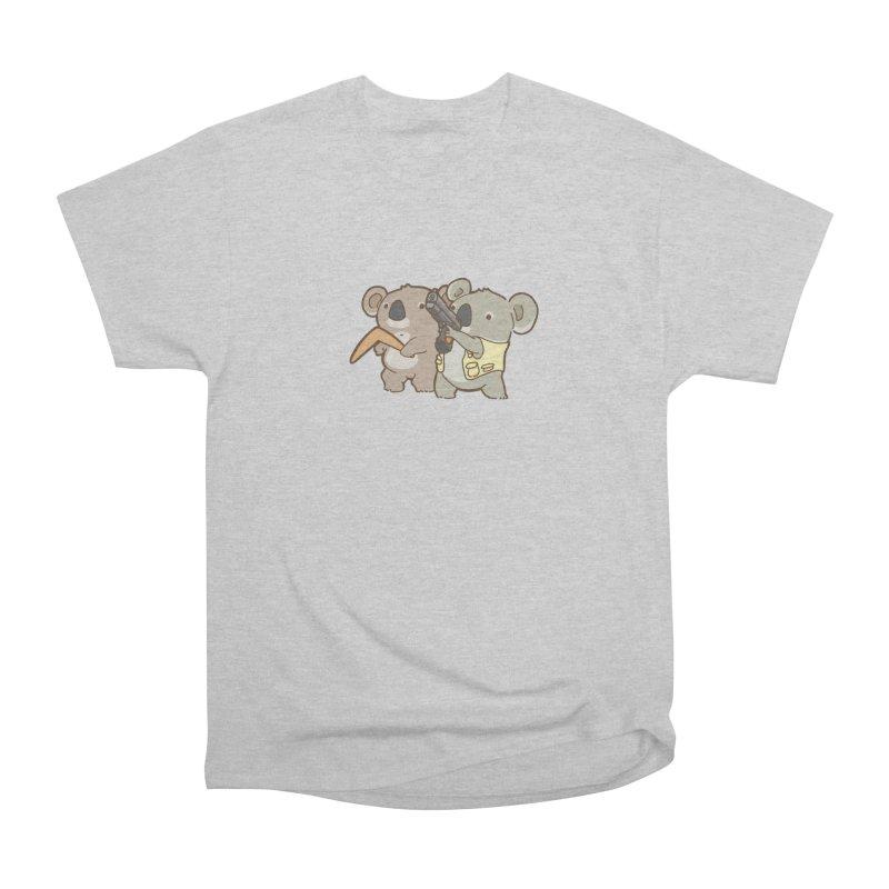 Dangerous Koalas Women's Heavyweight Unisex T-Shirt by Good Bear Comics's Artist Shop