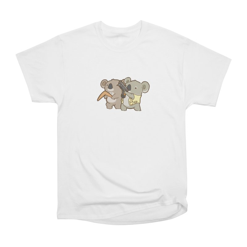 Dangerous Koalas Women's Heavyweight Unisex T-Shirt by Good Bear Comics's Artist Shop