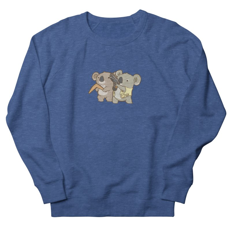 Dangerous Koalas Men's French Terry Sweatshirt by Good Bear Comics's Artist Shop