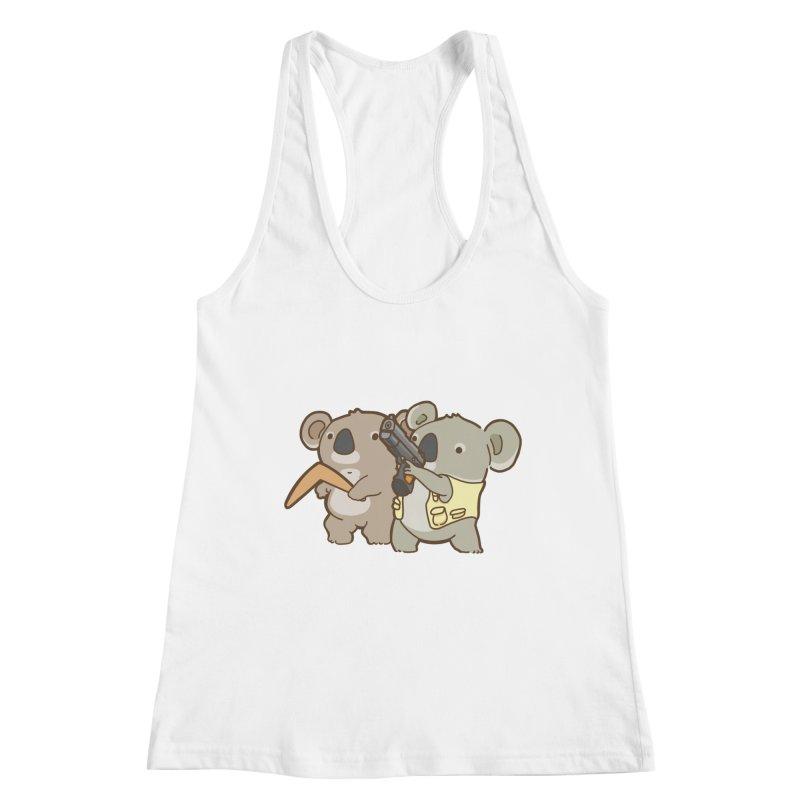 Dangerous Koalas Women's Racerback Tank by Good Bear Comics's Artist Shop