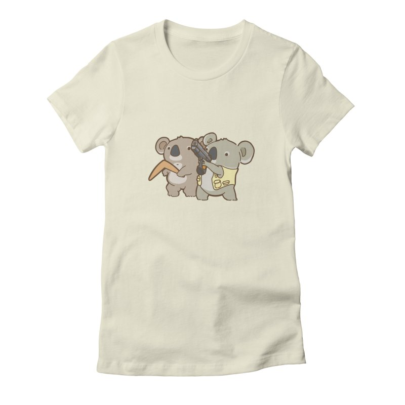 Dangerous Koalas Women's T-Shirt by Good Bear Comics's Artist Shop