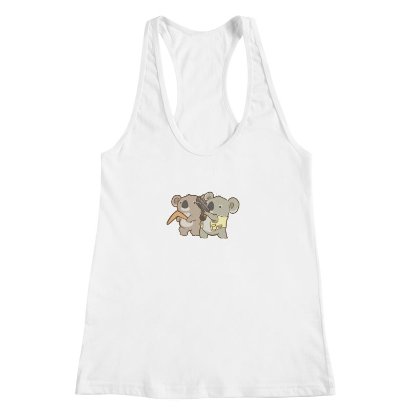 Dangerous Koalas Women's Racerback Tank by Good Bear Comics's Artist Shop