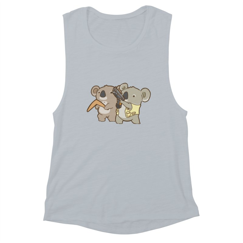 Dangerous Koalas Women's Muscle Tank by Good Bear Comics's Artist Shop