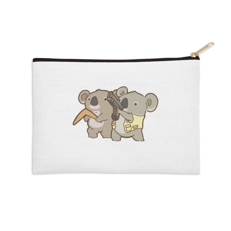 Dangerous Koalas Accessories Zip Pouch by Good Bear Comics's Artist Shop