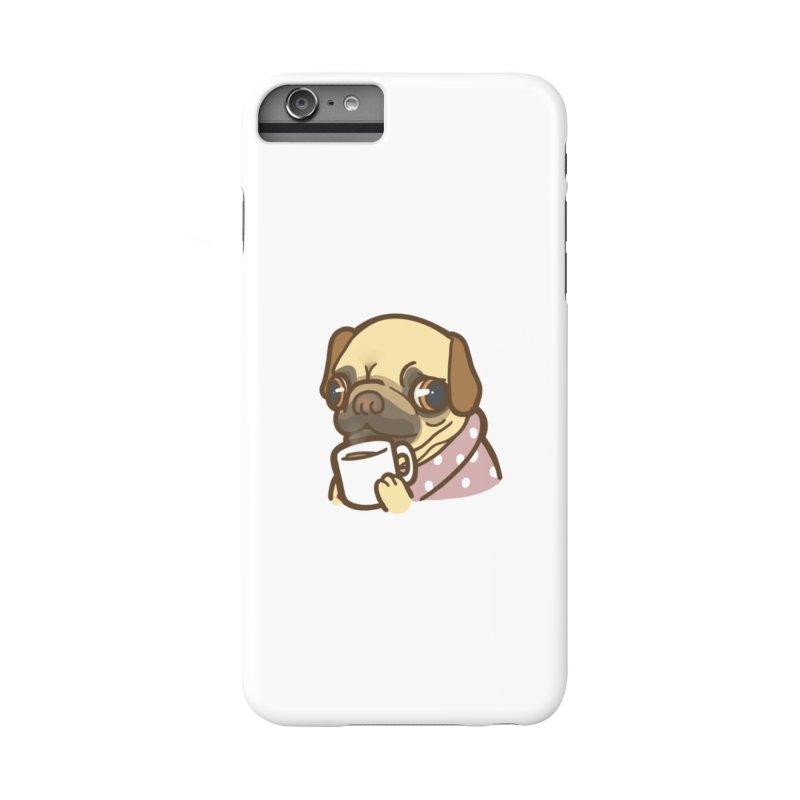 Pug Mug Accessories Phone Case by Good Bear Comics's Artist Shop