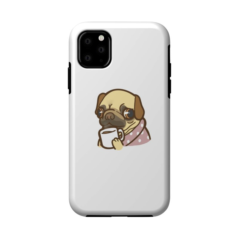 Pug Mug Accessories Phone Case by Good Bear Comics's Artist Shop