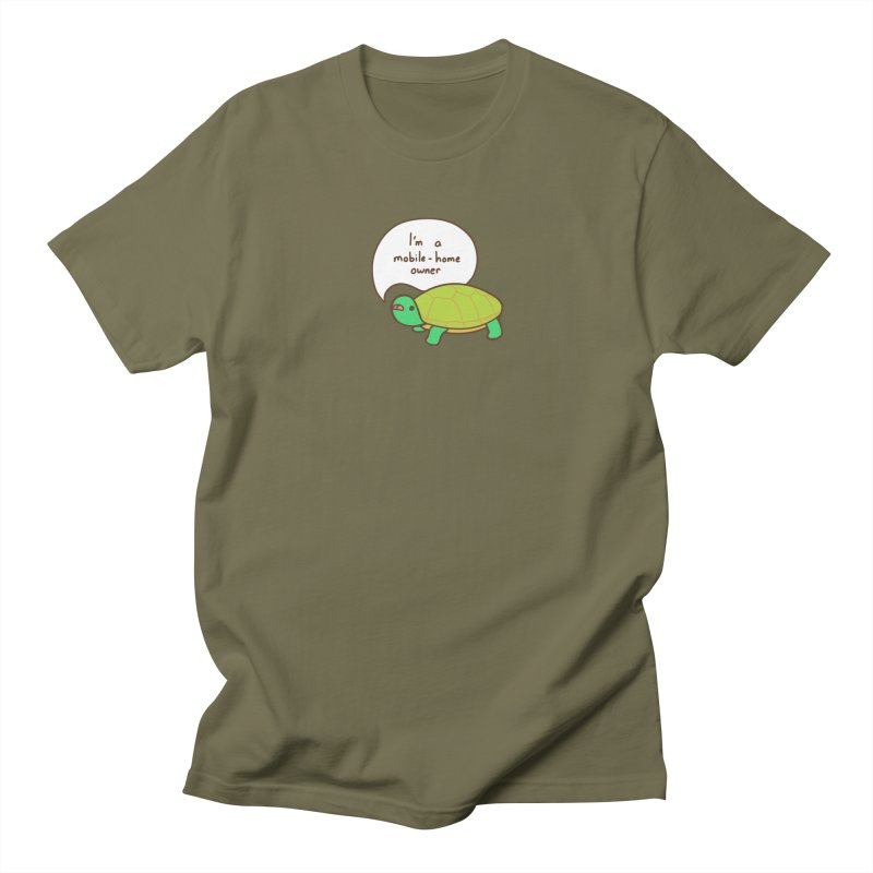 Mobile-Home Owner Men's T-Shirt by Good Bear Comics's Artist Shop